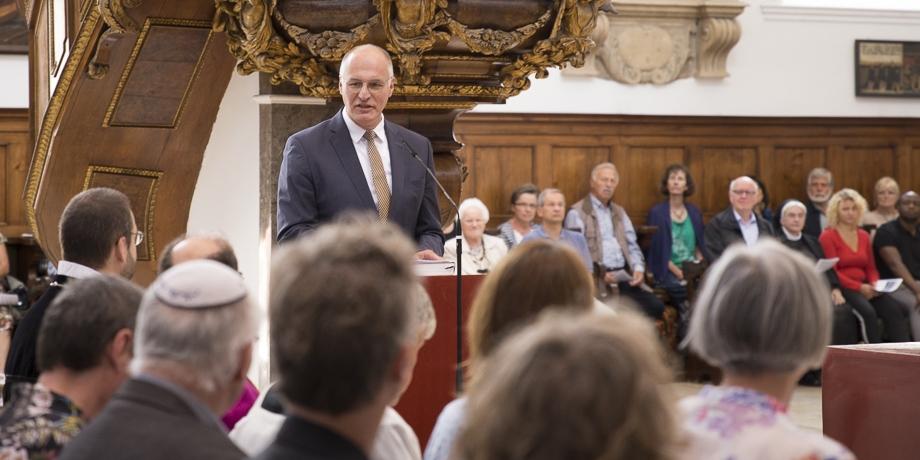 """Oberbürgermeister Kurt Gribl: """"Freiheit ist Quelle und Garant für gelingendes gesellschaftliches Leben."""""""