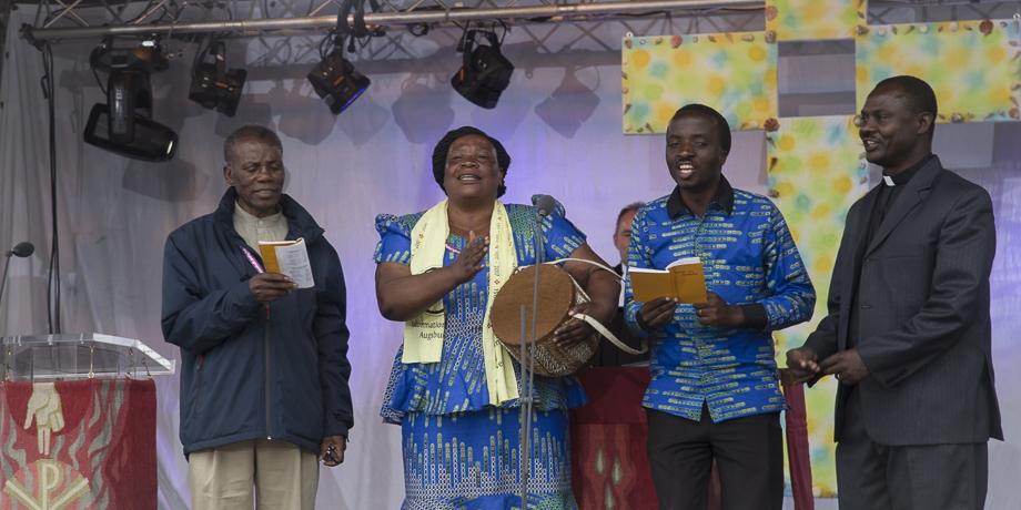 Gäste der Partnerdiözese aus Tansania   Foto: I. Hoffmann