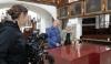 Tiki Küstenmacher interviewt Barbara Schmook zum Wachsaltar in St. Anna