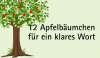 12 Apfelbäumchen für ein klares Wort