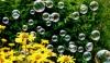Segensgottesdienst mit Seifenblasen