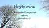 """""""Ich gehe voraus"""" - ökumenisches Ostergespräch"""