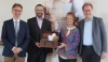 Die Veranstalter: Dr. Jens Colditz, Stadtdekan Michael Thoma, Citykirchenpfarrerin Bettina Böhmer-Lamey, Pfarrer Fritz Graßmann
