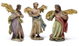 Engel der Weihnachtskrippe in St. Anna   Foto: Lipa