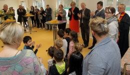 Kita Sonnenkäfer, Eröffnung der Erweiterung | Foto: Zoepf