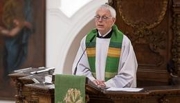 Prof. Dr. Josef Freitag, Spiritual des Seminars St. Lambert | Foto: I.Hoffmann